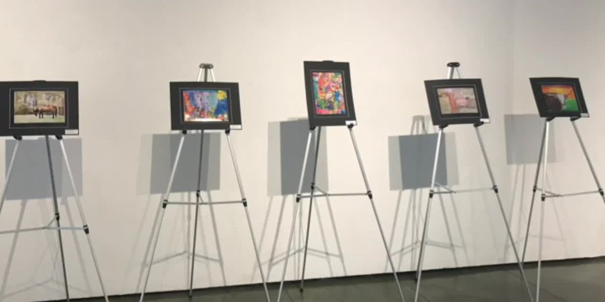 WEBXTRA: Houston Livestock Show Rodeo Art