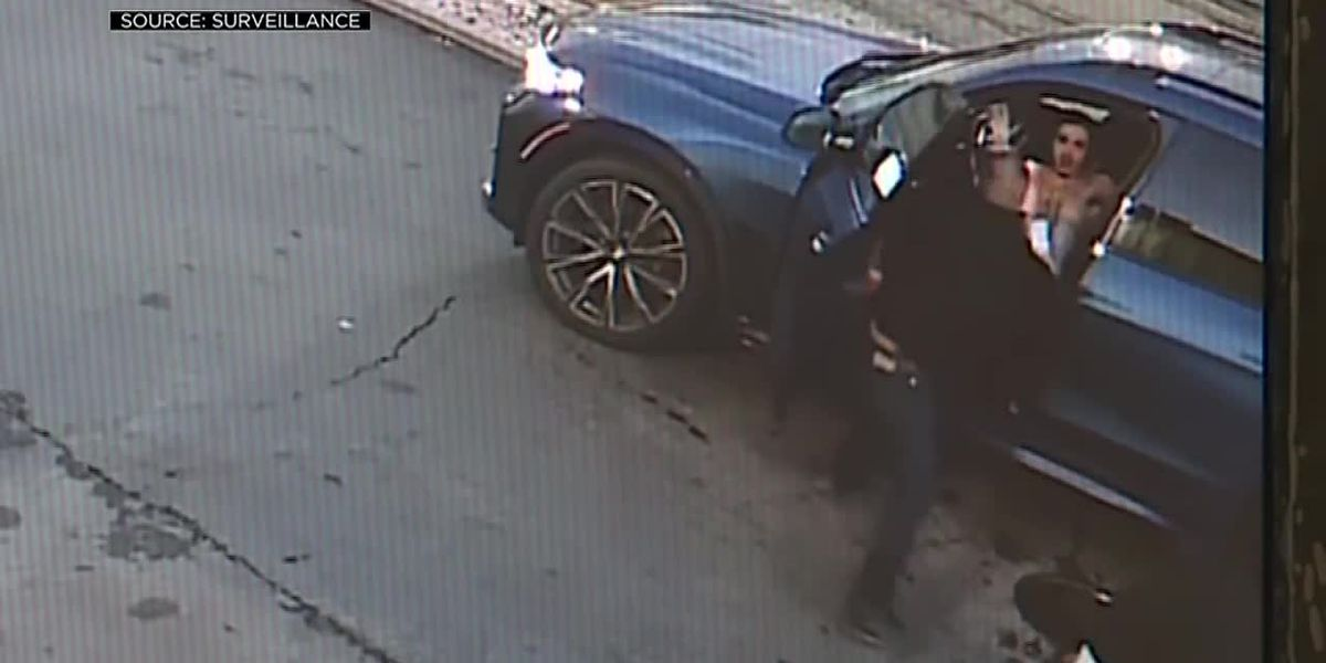 Good Samaritans pull attempted carjacker out of mother's SUV, hold him until police arrive