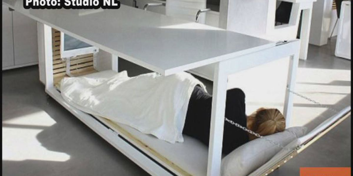 Design firm makes a nap desk to help recharge at work
