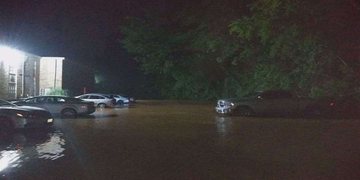 Local Nacogdoches residents receive flooding during storms