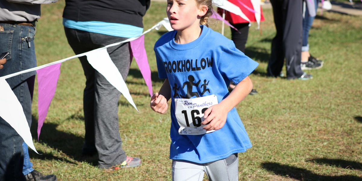Lufkin student recovering from Leukemia runs race after learning to walk