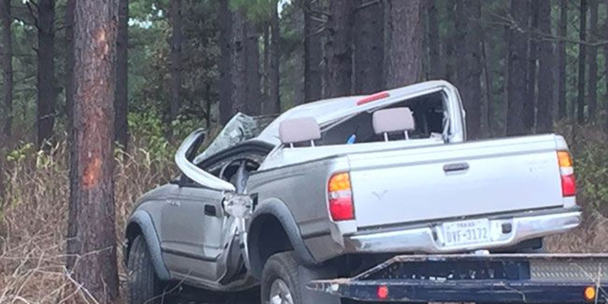 1-vehicle rollover stalling traffic on US 59