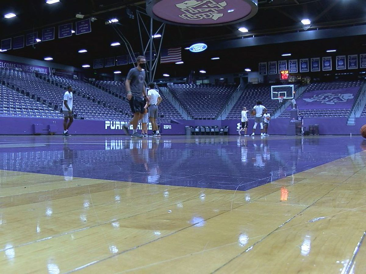 SFA gets start dates for basketball programs
