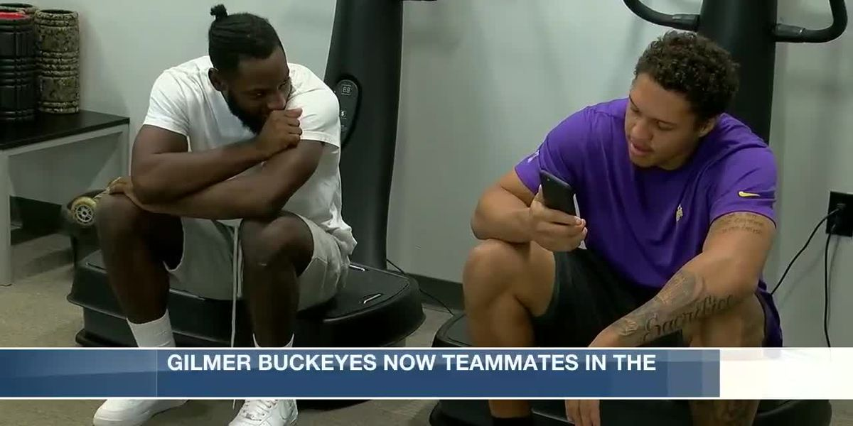 Former Gilmer Buckeyes teammates now playing together again as Minnesota Vikings