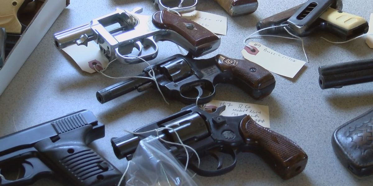 Gun sales are up in the U.S.