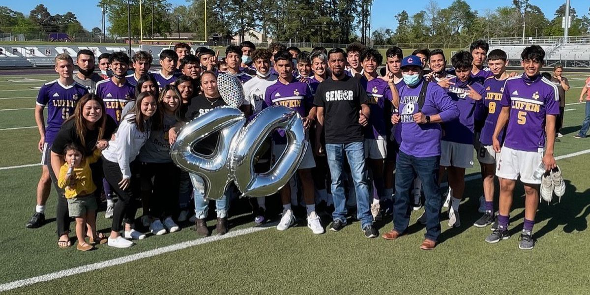 Lufkin's Luis Flores sets single season goal record for Pack Soccer