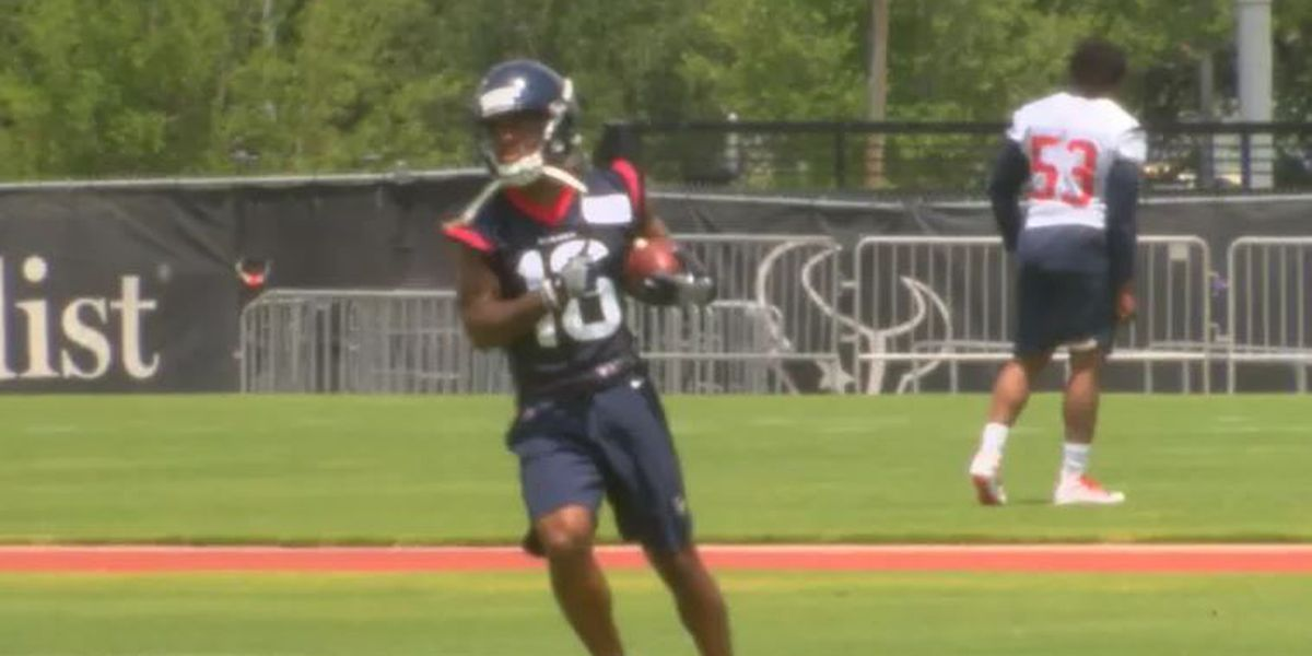 Keke Coutee back on the practice field for the Texans
