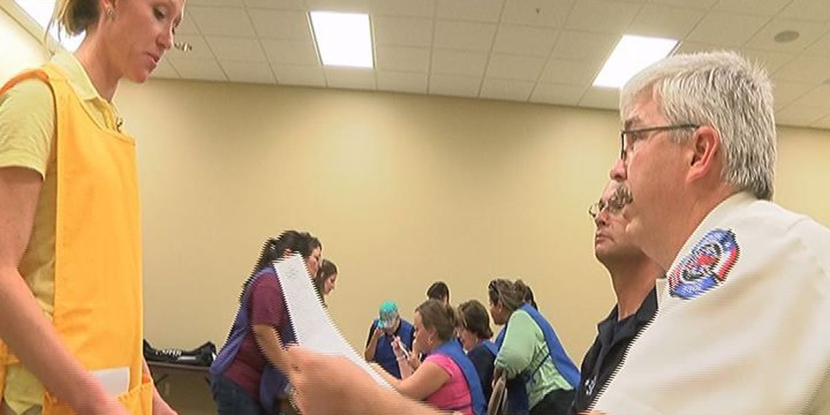 Angelina Co. officials train for future hurricanes
