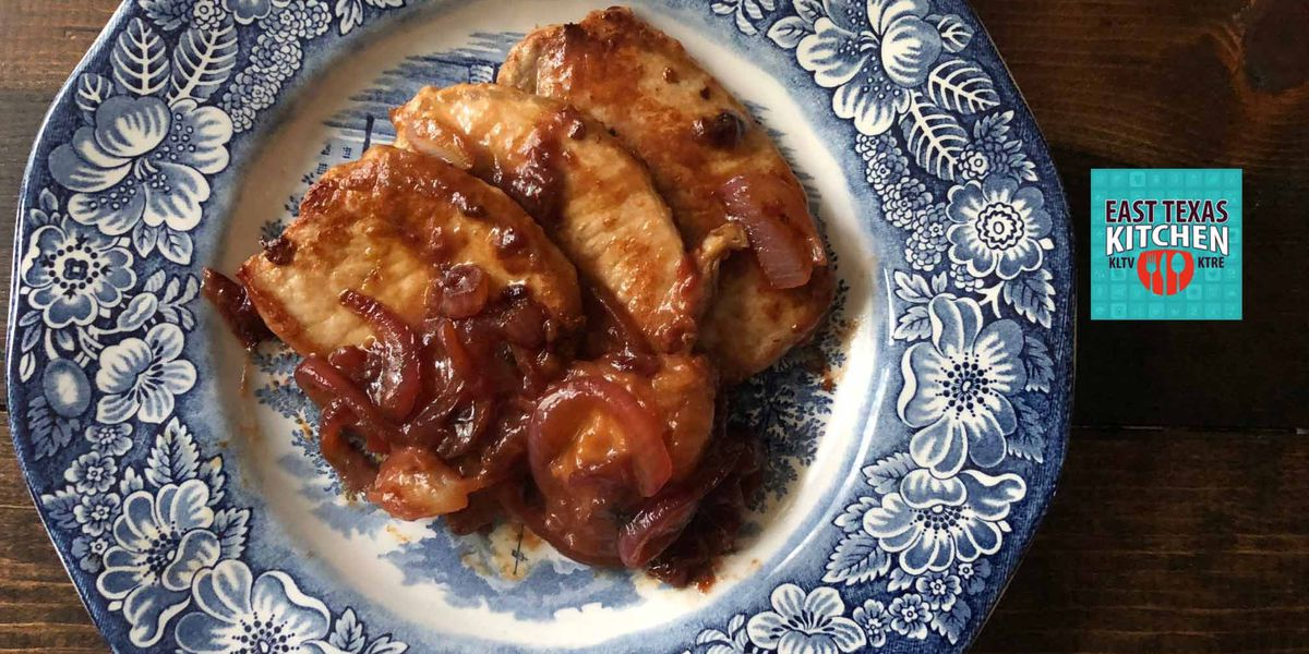 Mama Steph's plum-perfect pork chops