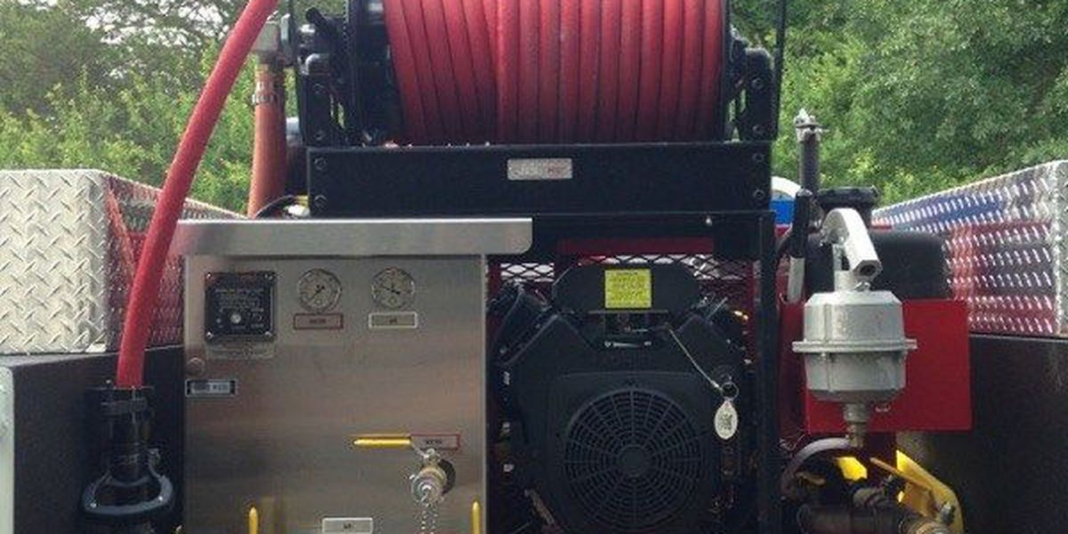 Kennard VFD uses $38K grant from Texas A&M Forest Service to buy new firefighting equipment
