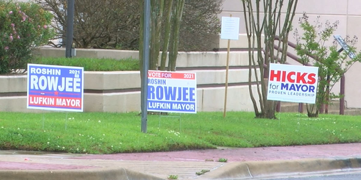 Lufkin voters showed up to the polls for Election Day