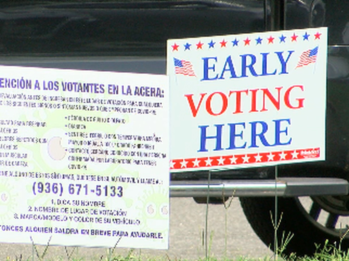 Early voting has started in Angelina County, safety measures in place