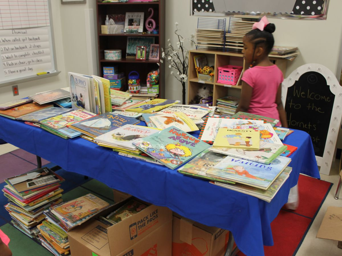 Book group donates 26,000 books to Lufkin ISD students