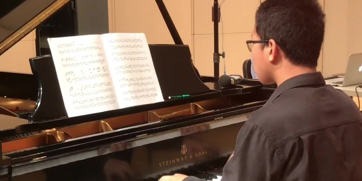 Nacogdoches pianist competes in international festival virtually