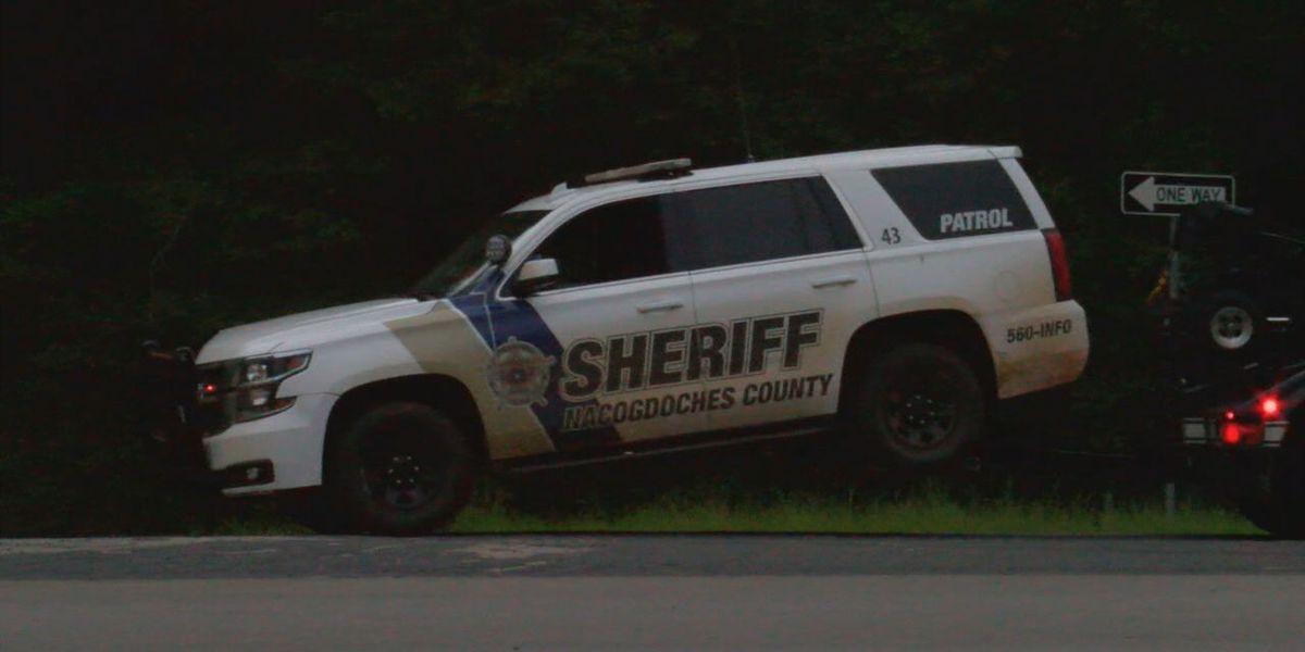 Nacogdoches Co. Sheriff's Office vehicle involved US 59 crash