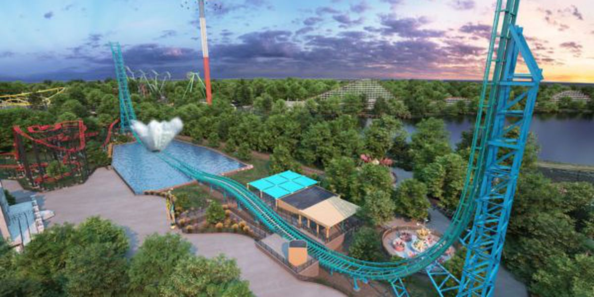 New Aquaman 'Power Wave' coaster looks to make a splash with guests at Six Flags Over Texas