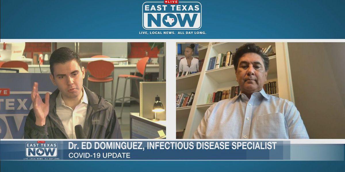 WATCH: Dr. Ed Dominguez talks flu vs. coronavirus, handwashing vs. sanitizer