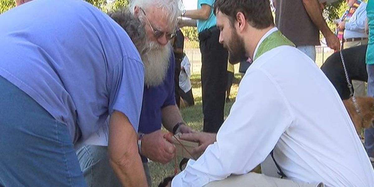 Nacogdoches Humane Society hosts annual 'Blessing of the Animals'