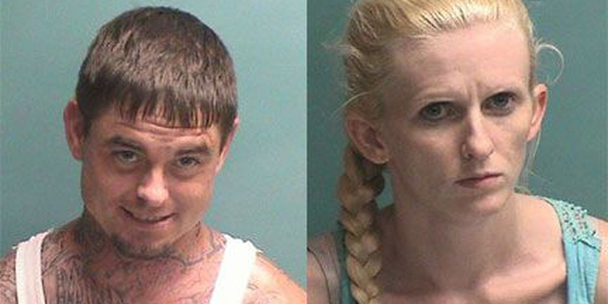San Augustine couple arrested in connection to robbery at Nacogdoches motel