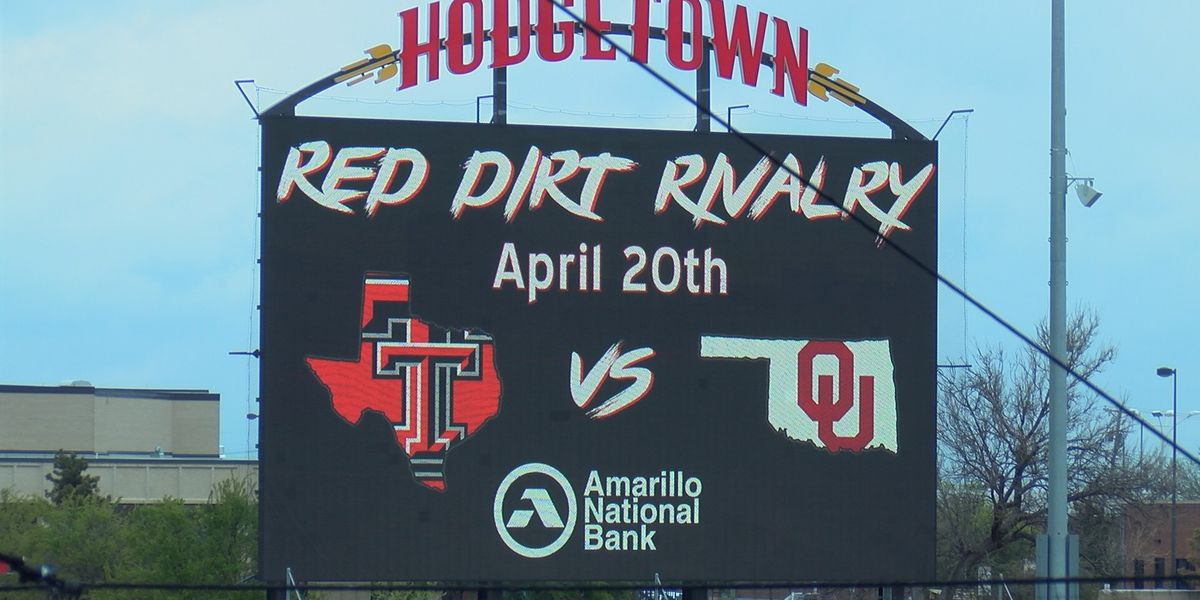 Red Dirt Rivalry, HODGETOWN'S first collegiate baseball game, features Texas Tech and Oklahoma