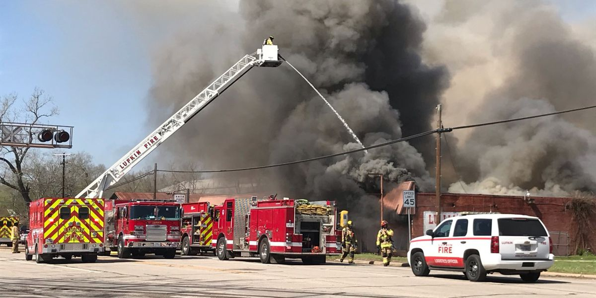 Fire damage to Lufkin resale shop prevents investigators from finding cause