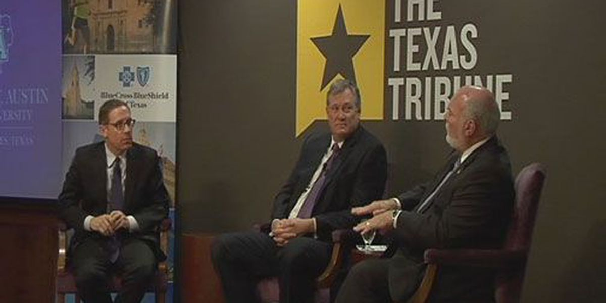 'Texas Tribune' co-founder, seeker of truth grills East Texas elected officials