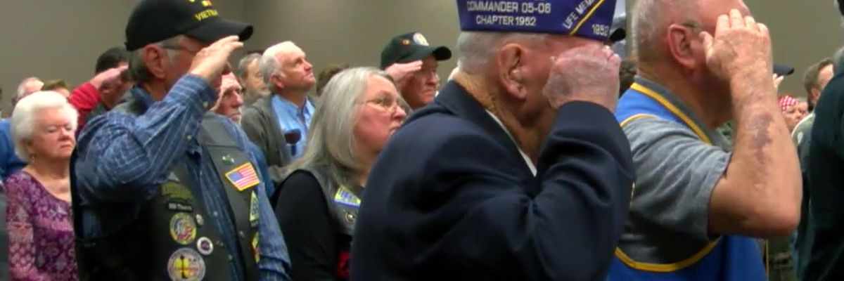 WEBXTRA: Vietnam veterans honored during ceremony in Nacogdoches