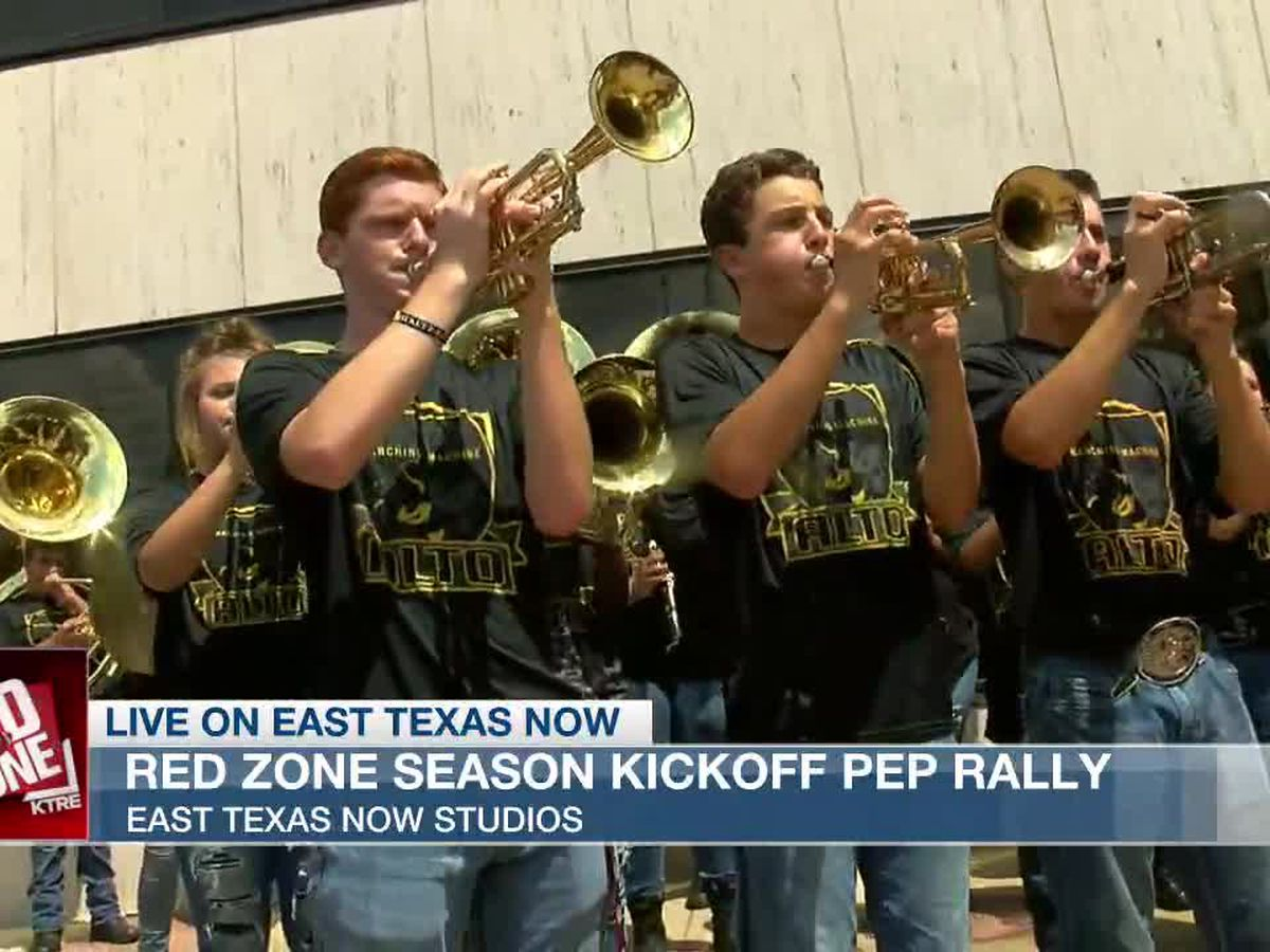 VIDEO: We're kicking off the season with a Red Zone pep rally!