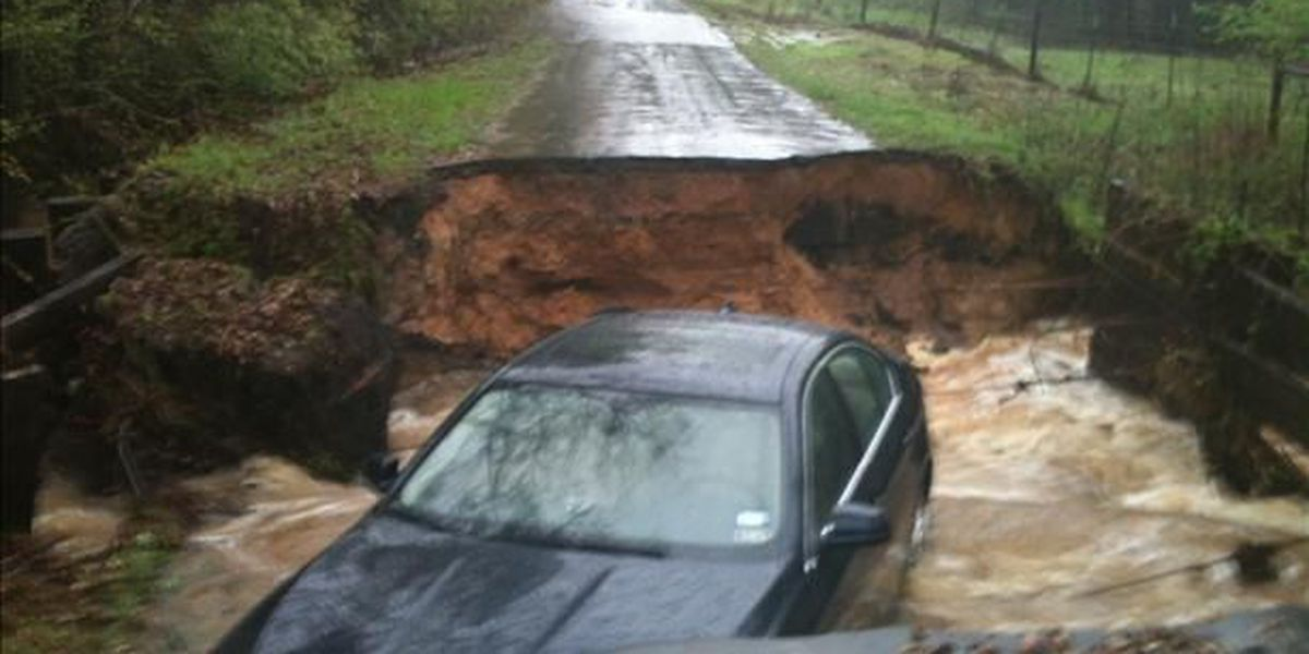 Some ETX roads reopened after weekend storms