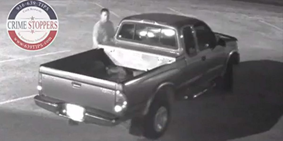 Crime Stoppers asks public's help in IDing man who stole Huntington ISD yard equipment