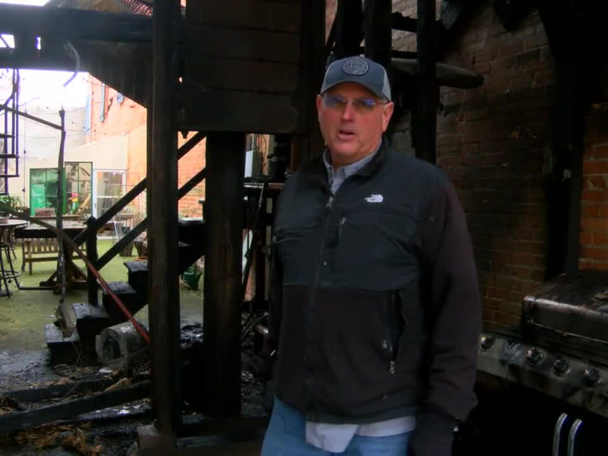 WEBXTRA: Investigation of downtown Nacogdoches fire continues