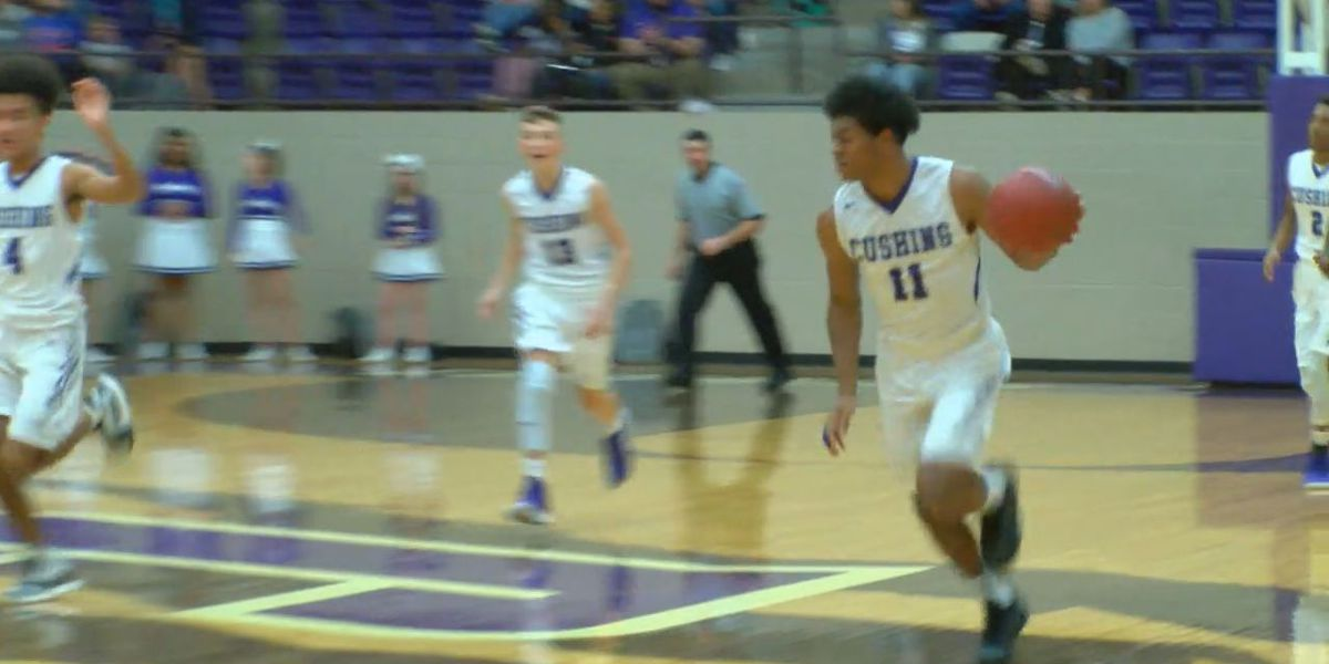 Friday Basketball: Cushing gets convincing win, Lady Pack one win from district title