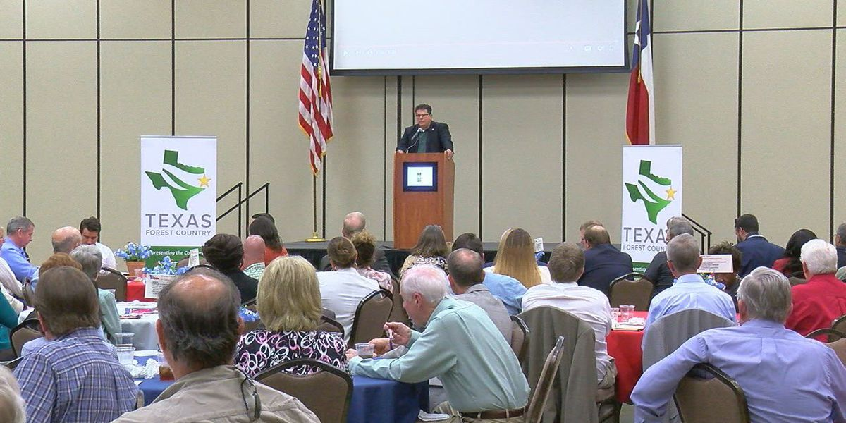 Secretary of State Pablos points to water as main economic catalyst for Pineywoods