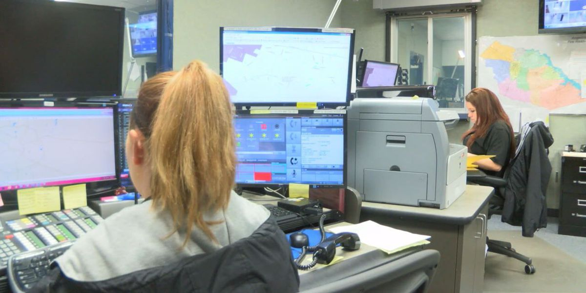 Angelina Dispatch on high alert during stormy weather
