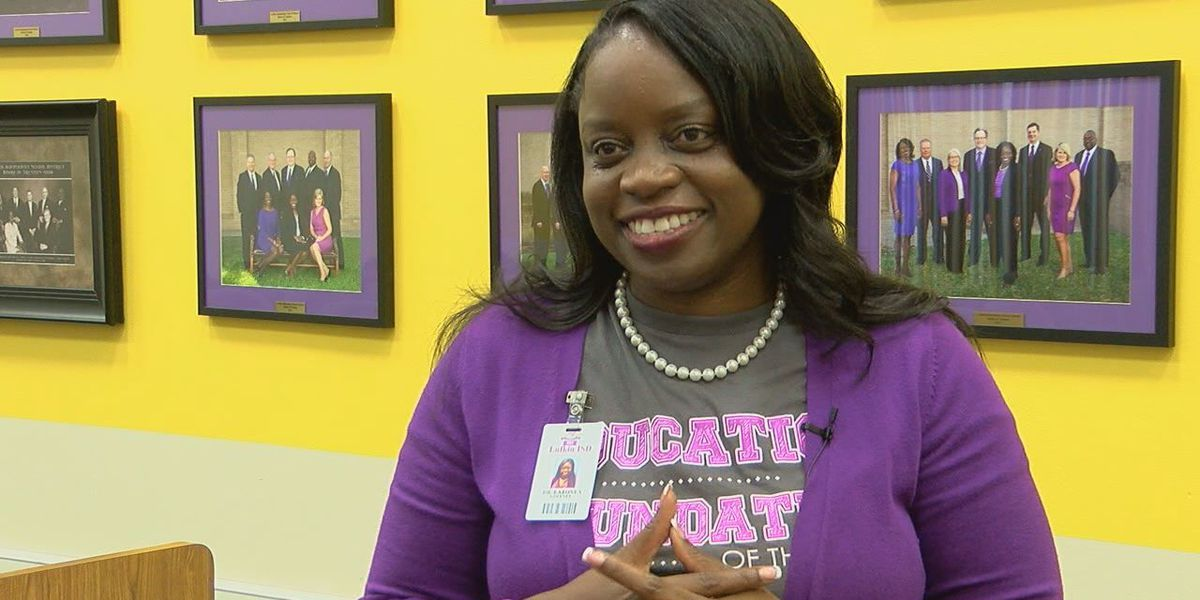 """Lufkin ISD school head says """"it was kind of surreal, dreamlike"""" when named Superintendent of the Year"""