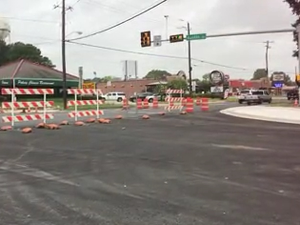 Work nearing completion on East Austin Street in Nacogdoches