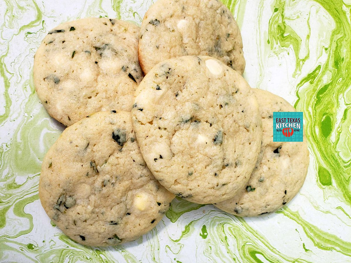 Cilantro lime white chocolate cookies by Nothing Vanilla Cookies