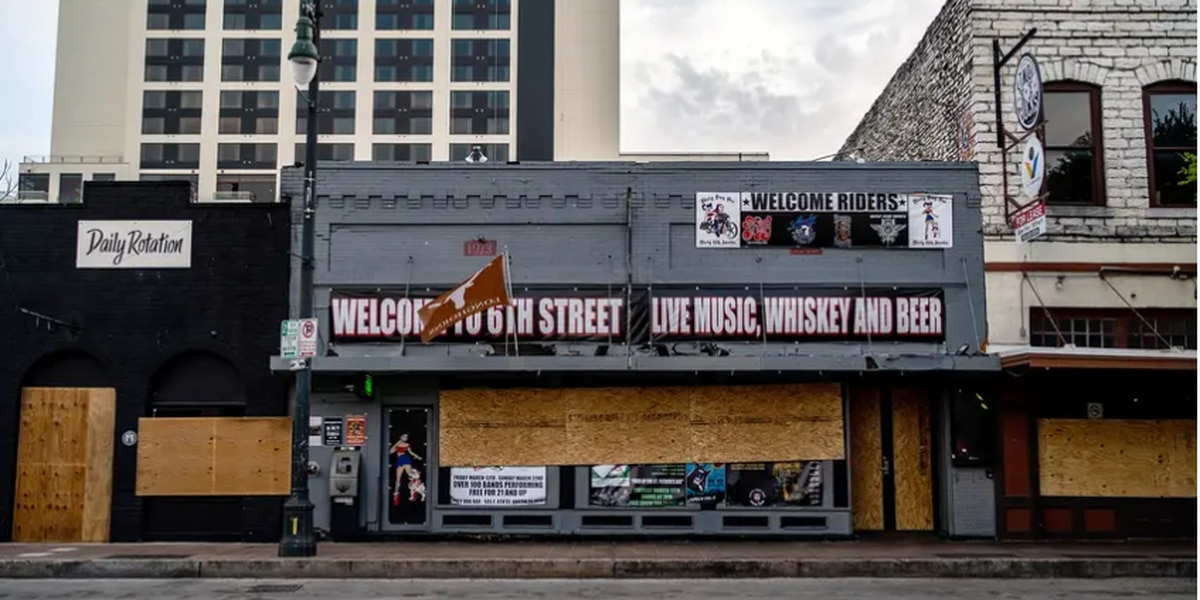 Gov. Greg Abbott has closed Texas bars twice since the pandemic began. Now he's hinting at opening them again.