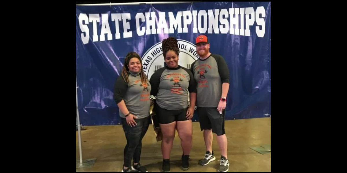 WEBXTRA: Trinity powerlifter wins gold at state