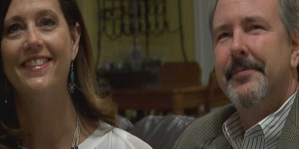 East Texas couple's love story starts on a business card