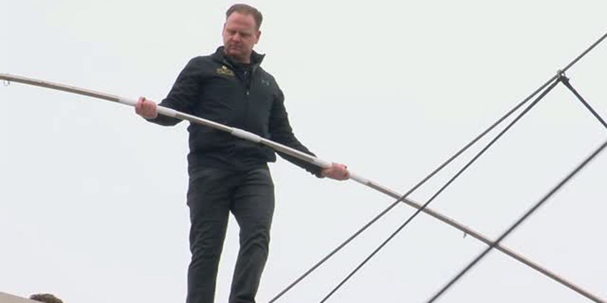 WATCH LIVE: Behind the scenes before Nik Wallenda's tight-rope walk across Time Square