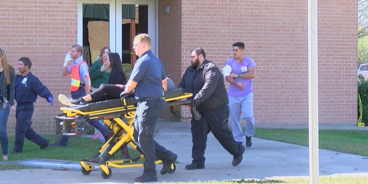 Angelina College stages disaster simulation for health students