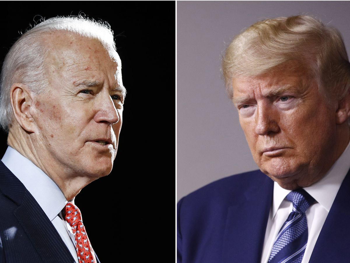 Bitter debate taunts overpower Trump's, Biden's visions