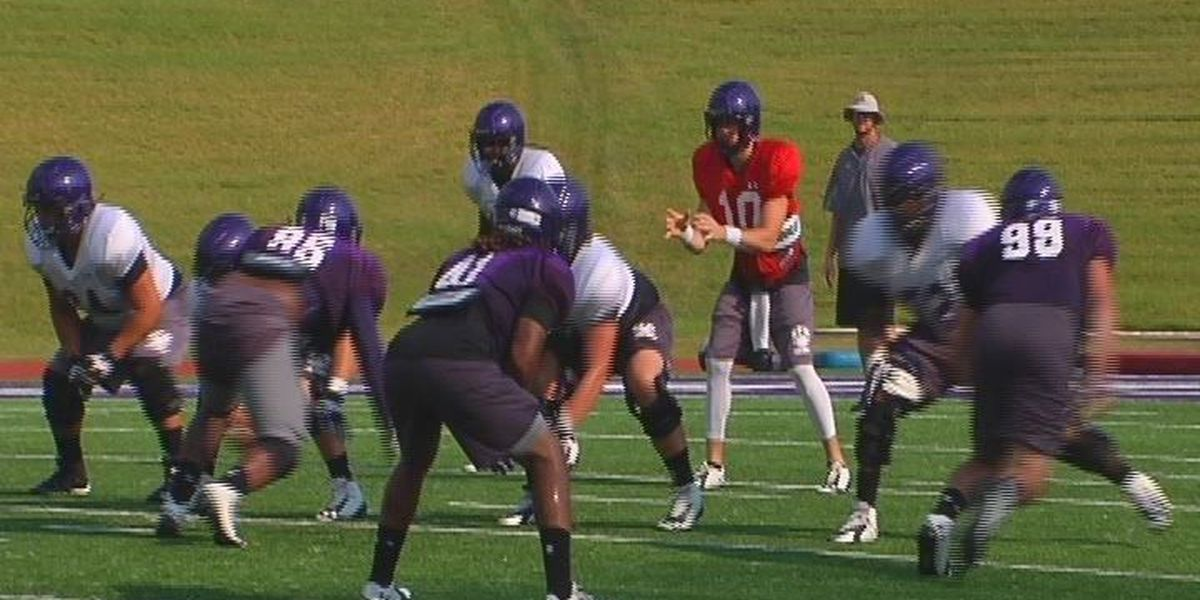 SFA Lumberjack football team set for first scrimmage of the season