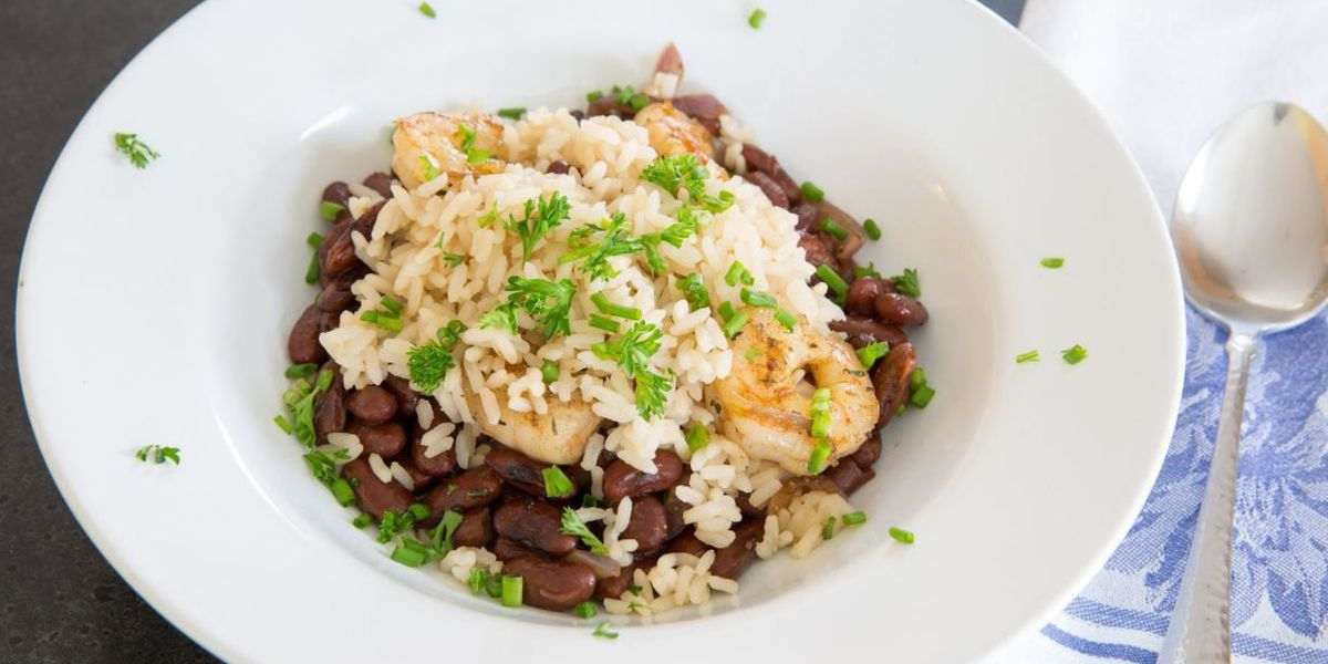 Red beans and rice by Bear Creek Smokehouse