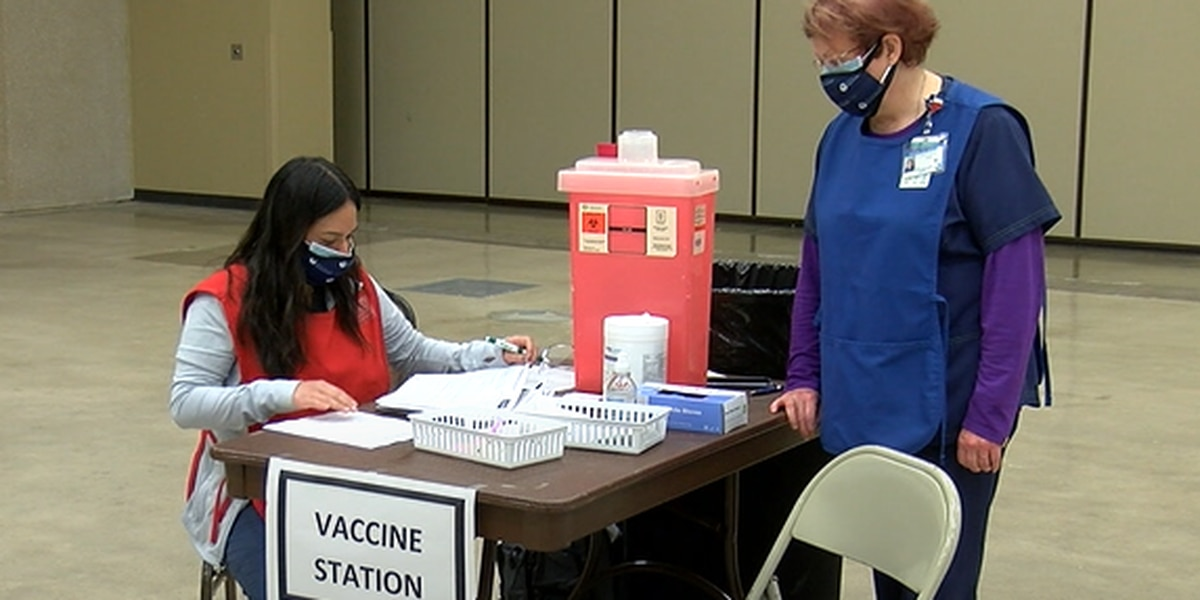 Lufkin community members came out for COVID-19 vaccination planning drill