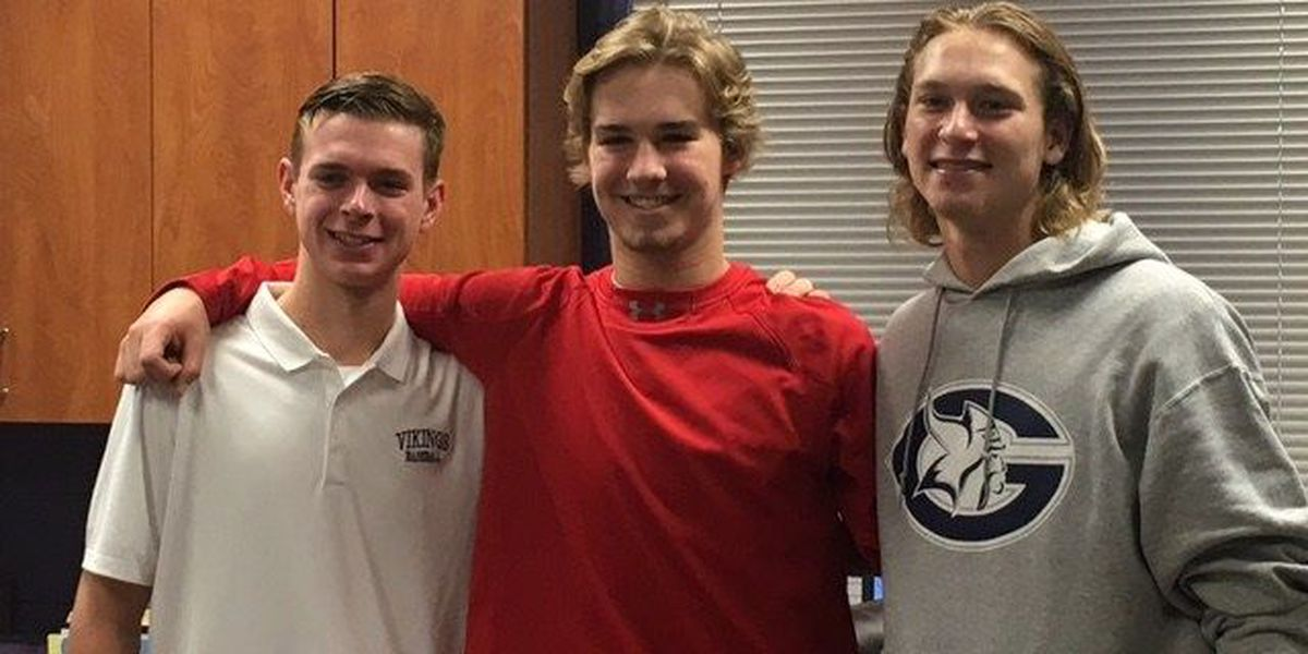 3 Lufkin Panthers sign with college baseball teams
