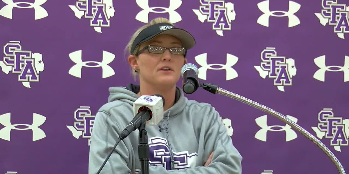 WEBXTRA: SFA Softball home opener up in the air