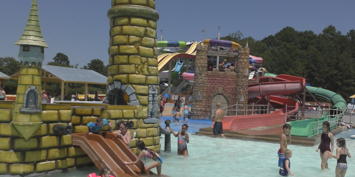 Families flock to Splash Kingdom in Nacogdoches as park reopens with COVID-19 restrictions