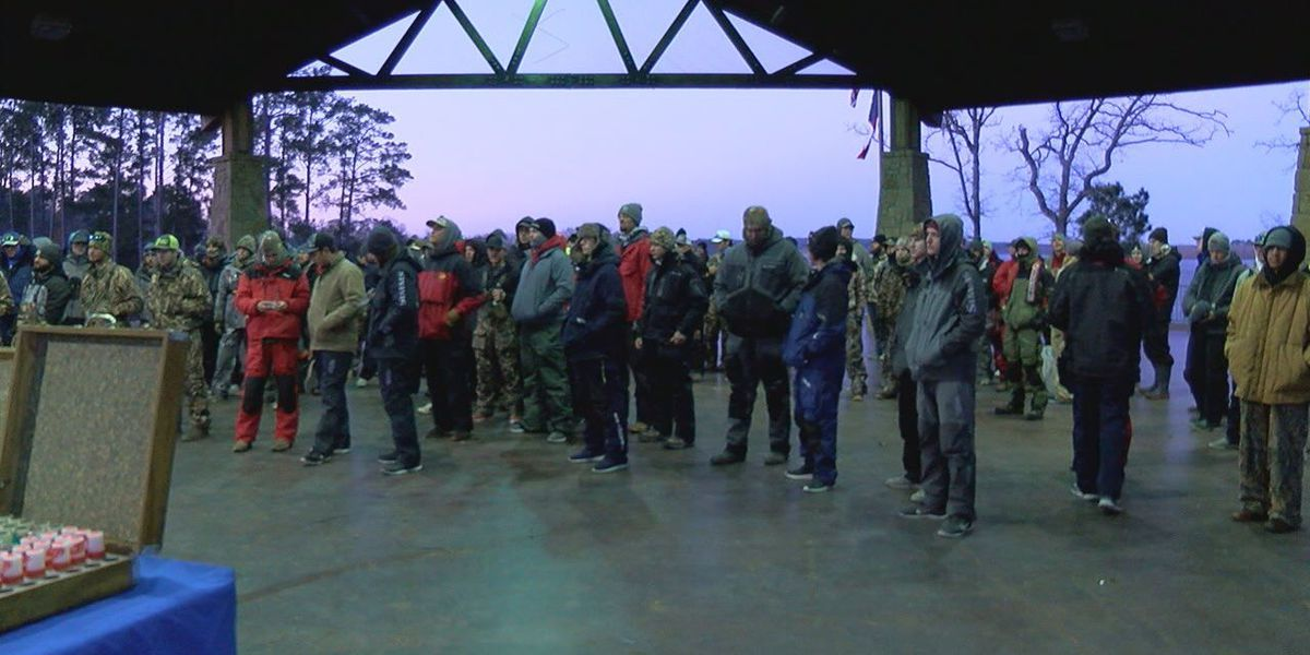 Lake Sam Rayburn fishing tournament attracts out of state anglers